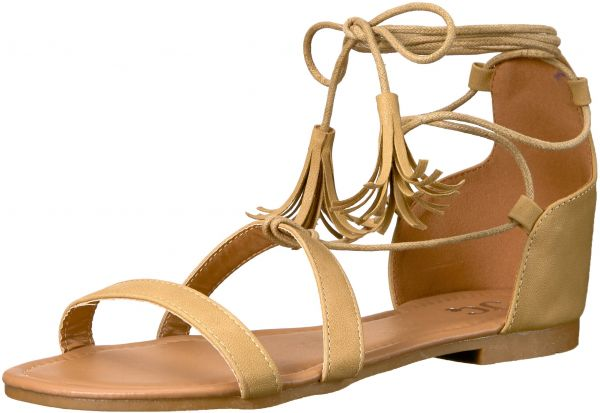 5e9208f18 Brinley Co Women s Aviss Flat Sandal