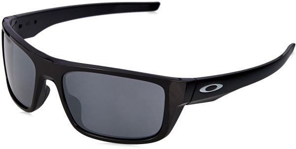 c83f79d416 Oakley Men s Drop Point Non-Polarized Iridium Rectangular Sunglasses
