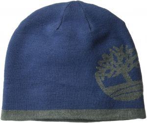 6ed2dbaaf790d Timberland Men s Reversible Knit in Tree Beanie