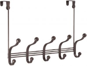 Buy Interdesign Over Door Rack Interdesignwhitmorevideco Uae