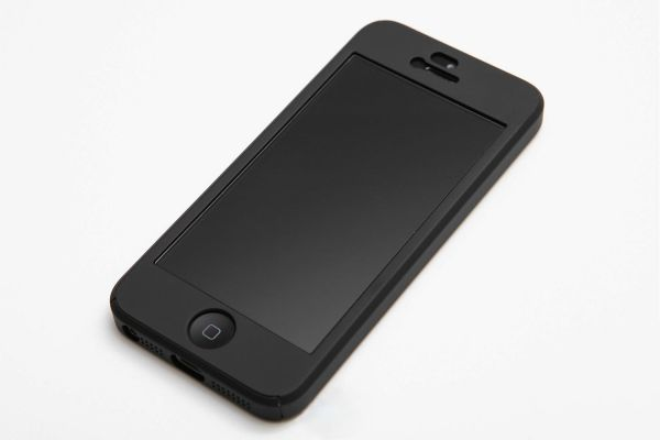 online store 1d968 58e52 360 iPaky Full Protection Cover with Glass Screen Protector for iPhone 5,  S5 , SE