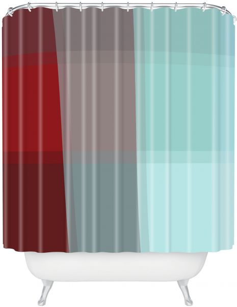 Deny Designs Madart Aqua Burn Shower Curtain 69 Inch By 72 - Home ...