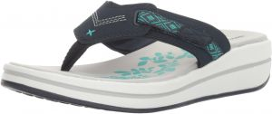 9b51e23f25c1 Skechers Women s Upgrades Marina Bay Flip Flop