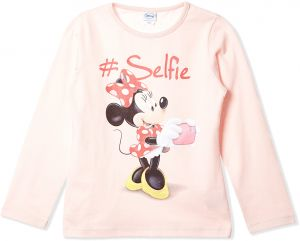 36de2c5234 Disney T-Shirts For Girls - Light Pink