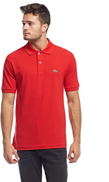8b6ed26d35be1 Lacoste Polo for Men - Red   Souq - UAE