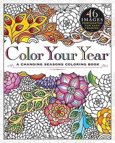 Color Your Year A Changing Seasons Coloring Book
