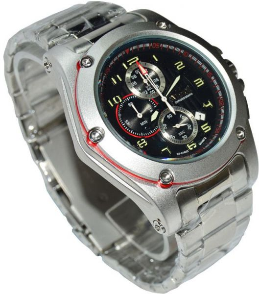 fcd266a5a34ee Sveston Casual Watch For Men Analog-Digital Stainless Steel - SV-9194G