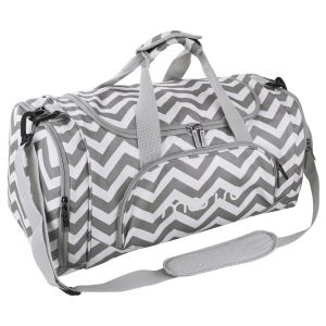 Mosiso Canvas Fabric Foldable Travel Luggage Duffels Shoulder Bag  Lightweight for Sports fee058a28f247