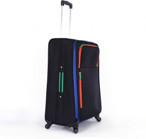 United Colors Of Benetton Luggage Trolley Bag One Piece Black 58073312 007