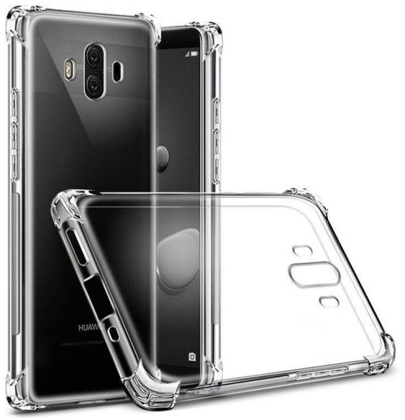 quality design 7e398 c37cf Huawei Mate 10 pro Shockproof TPU Case Cover - Clear