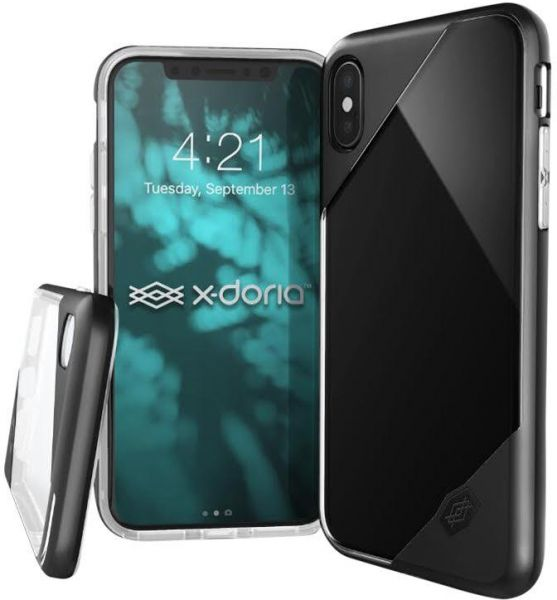 X-DORIA REVEL LUX BACK COVER IPHONE X BLACK