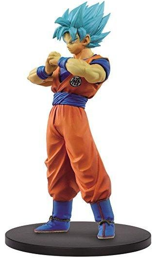 Dragon Ball Warriors Super Saiyan Blue Goku Dxf Figure