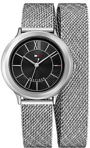 77f77b10c0e Tommy Hilfiger Women s Black Stainless Steel Casual Watch - 1781855
