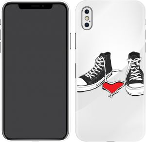 Switch iPhone X Skin Chunk In Love Tra nspa rent