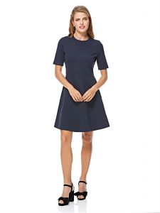 a6303ef790a Tommy Hilfiger A Line Dress for Women - Midnight Blue