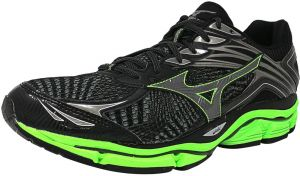fotos oficiales 35b39 9cd87 Mizuno Wave Enigma 6 Running Shoes for Men - Black & Grey