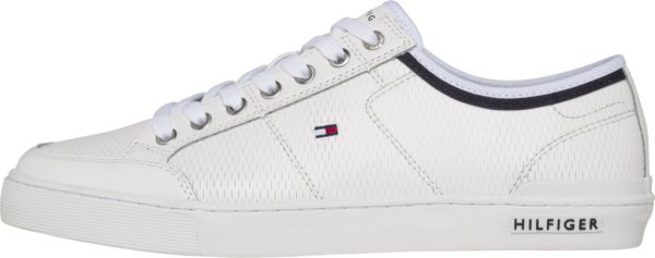 b1c0df5a9f0376 Tommy Hilfiger Core Corporate Fashion Sneakers for Men - White ...