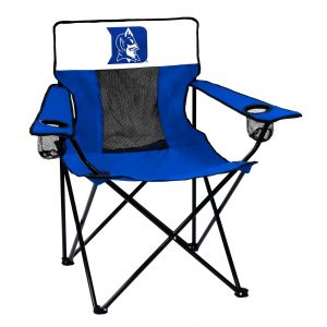 Collegiate Folding Elite Chair With Mesh Back And Carry Bag Orange