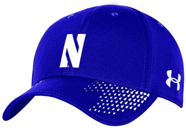 65c5f32367e Under Armour NCAA Northwestern Wildcats Men s Renegade Stretch Fit Cap