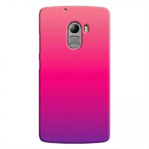 Cover It Up Pink Shade Hard Case For Lenovo K4 Note, Multi Color
