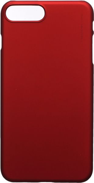X-Level Metalic Back Cover For Apple Iphone 7 Plus, Red