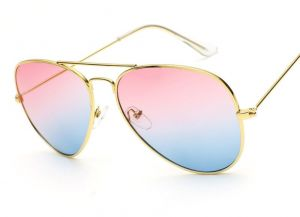 1655a43581a Fashion Rimless Frog Mirror oval women Polarized Sunglasses pink-blue-sss