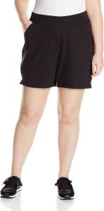 f9255d44b6 Just My Size Women's Plus Cotton Jersey Pull-On Shorts - 3X Plus - Black
