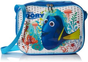 Finding Dory Rectangle Lunch Bag With Strap And Printed Pvc Sequin Underlay