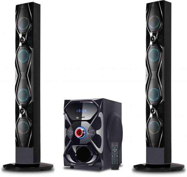 Nikai 2 1 Channel Home Theater System, NHT2125BT