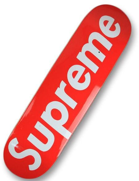 Supreme Skateboard 13x8 Inches d282532ead7