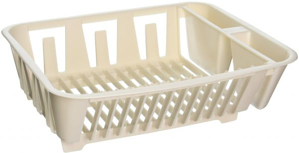 Souq | Rubbermaid Antimicrobial In-Sink Dish Drainer, Small, Bisque ...
