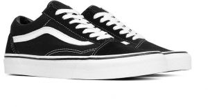 8d4b07ee3a Vans Black   White Fashion Sneakers For Unisex