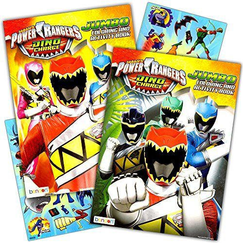 Power Rangers Coloring Book Super Set -- 2 Coloring and Activity ...