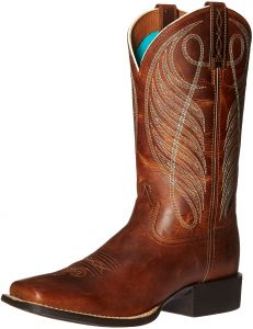 7e9e98ecd1f Ariat Women s Round Up Wide Square Toe Western Cowboy Boot
