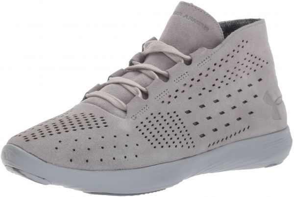 575833fc56 Under Armour Women's Street Precision Mid Lux, Steel/Overcast Gray/Rhino  Gray, 11 B(M) US