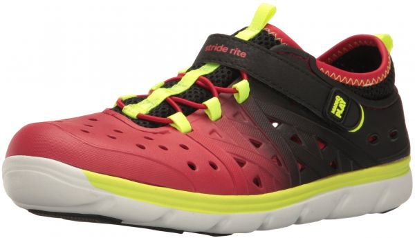 ed4ad4e0602c Stride Rite Made 2 Play Phibian Sneaker Sandal Water Shoe (Toddler Little  Kid Big Kid)