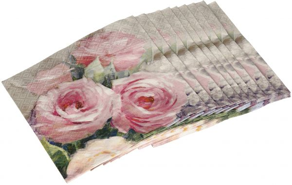 Souq | Abbott Collection Julia Rose Paper Napkins, Large (20 pack) | UAE