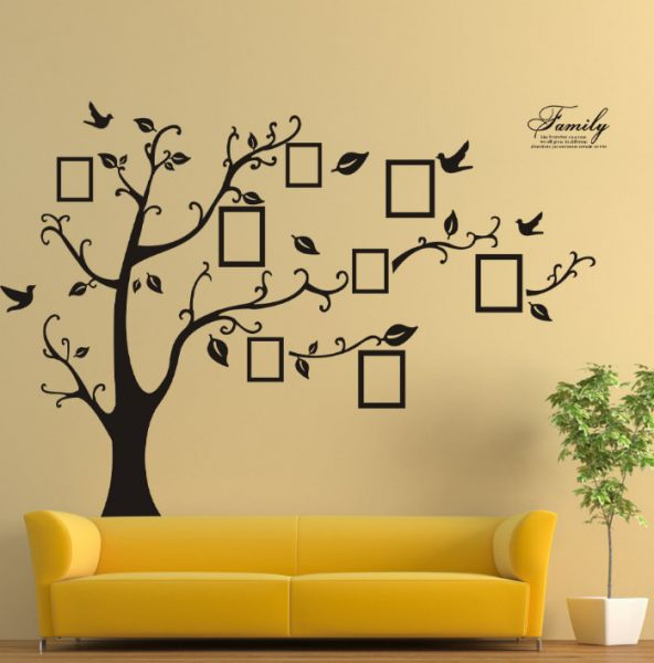 Wall Stickers Home Decor Family Picture Photo Frame Tree Wall Art