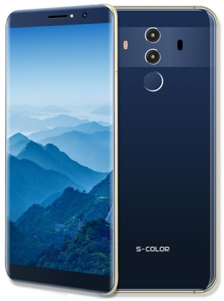 S-COLOR MATE10 PRO FINGERPRINT SMARTPHONE(ANDROID 7.0,5.8 INCH, 4G+WIFI,32GB+3GB) BLUE