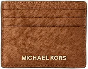 2df64fa3265e Michael Kors 35H6GTVD7L Jet Set Travel Large Leather Credit Card Holder -  LUGGAGE