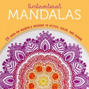 Embroidered Mandalas 25 Iron On Mandala Designs To Stitch Color And Share