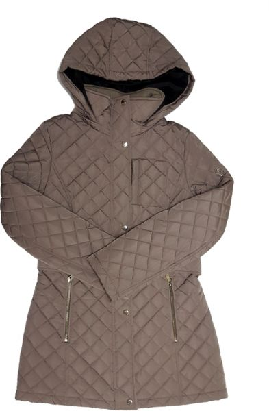 65496d40c07c6 Calvin Klein Women s Classic Quilted Jacket with Side Tabs