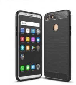 Flexible Slim case Anti-shocks Armor By iPaky for Oppo F5 Black
