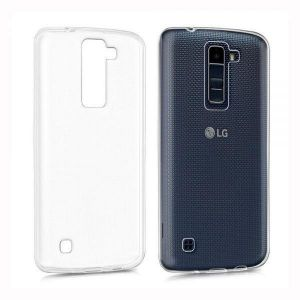 silicone cover case tpu for lg k8 clear