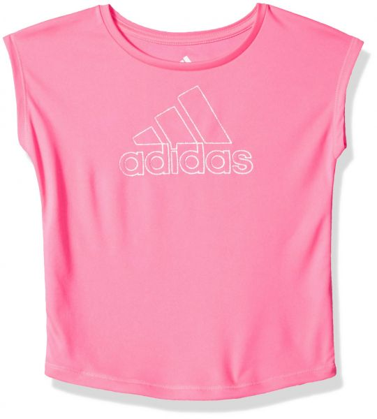 adidas Big Girls  Short Sleeve Graphic Tee Shirts 2edf0a4d8