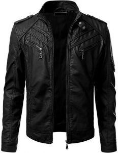 a6d84d0c1 Shop leather jacket at Hashoob