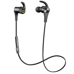 b7c8f5e776e SoundPEATS Bluetooth Headphones In Ear Wireless Earbuds 4.1 Magnetic  Sweatproof Bluetooth Earphones for Sports With Mic (8 Hours Play Time,  Secure Fit, ...
