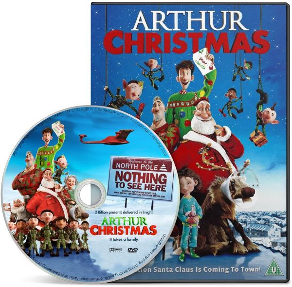 this item is currently out of stock - Arthur Christmas Dvd