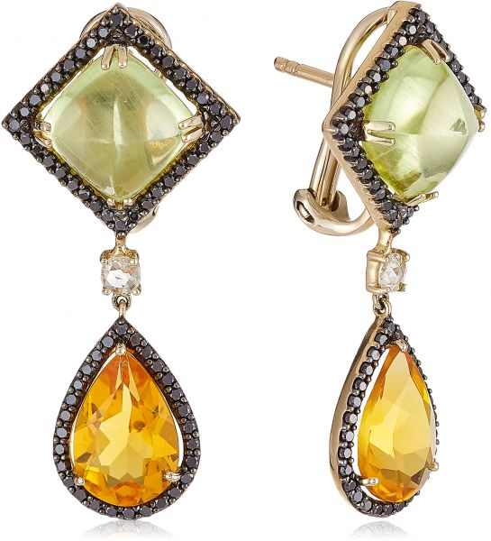 Jewel Room Women s 14K Diamond Earrings - 132121E  87e288913e