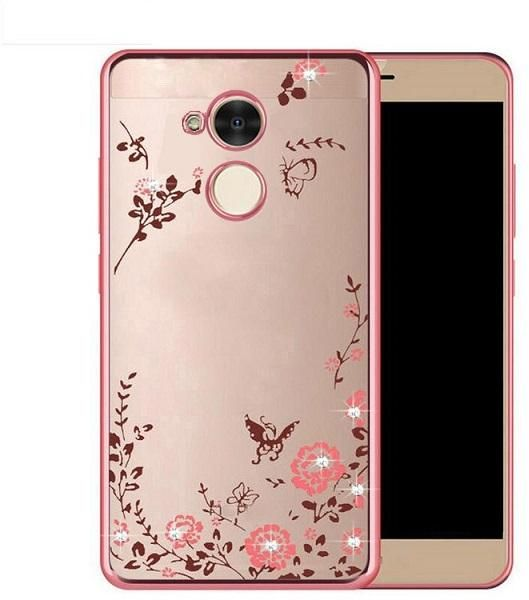 new concept 8a646 f35bd Huawei Honor 5c Pro Clear Soft Rose Case